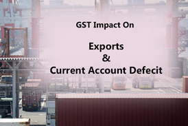 GST Impact on Exports
