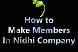 Members in Nidhi Company