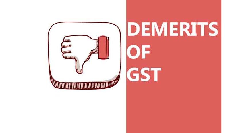 Image result for demerit of gst