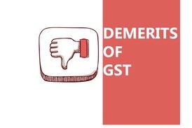 Demerits of GSt