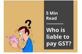 Thumb who is liable to gst