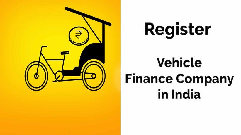 Register Vehicle Finance Company