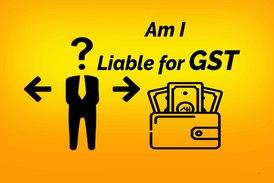 Liable for GST registration
