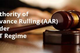Advance ruling AAR GST