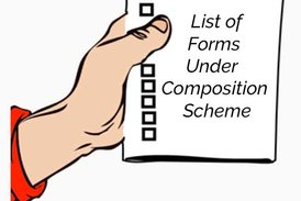 List of forms under composition scheme