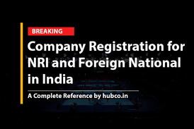 Company Registration for NRI and Foreign National in India