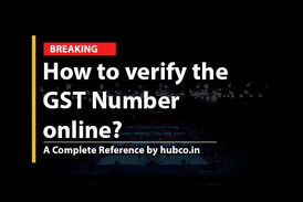 How to verify the GST Number online?