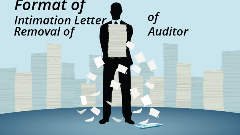 Intimation letter of Removal of Auditor