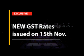 New GST Rates 2017