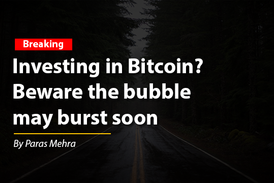 Investing in Bitcoin? Beware the bubble of cryptocurrencies may burst soon