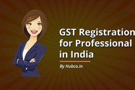 GST Registration for Professional in India