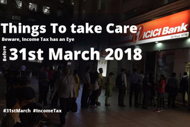 Income Tax return before 31st March 2018