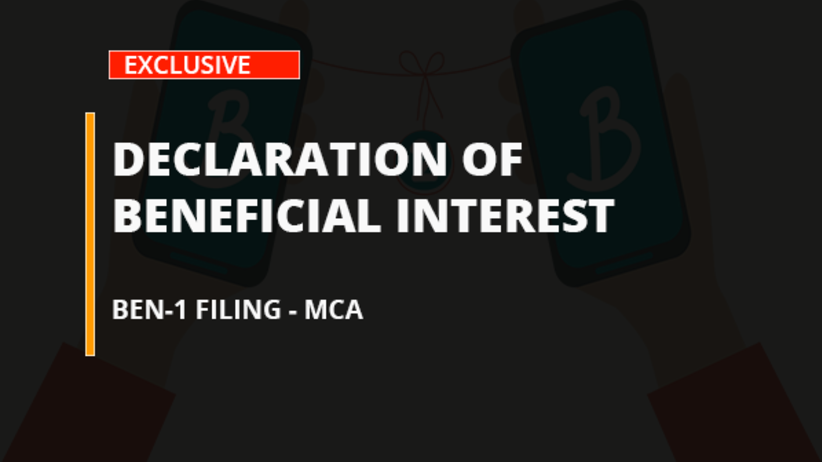Declaration of Beneficial Interest