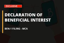 Declaration of Beneficial Interest