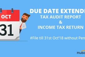 Due Date Extended Tax Audit Report ITR