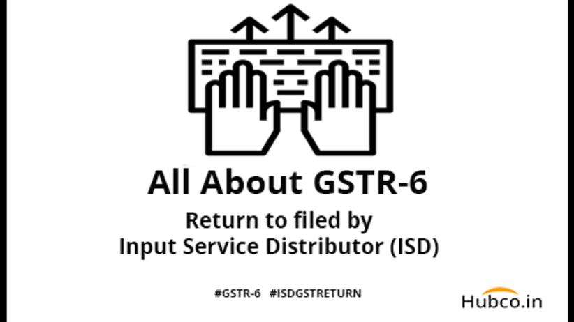 ISD gst return filing