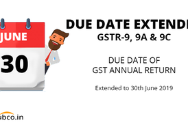 GST Annual Return Date Extended 30 June