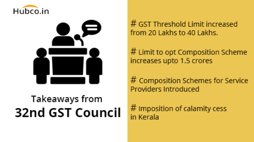 32nd gst council meeting