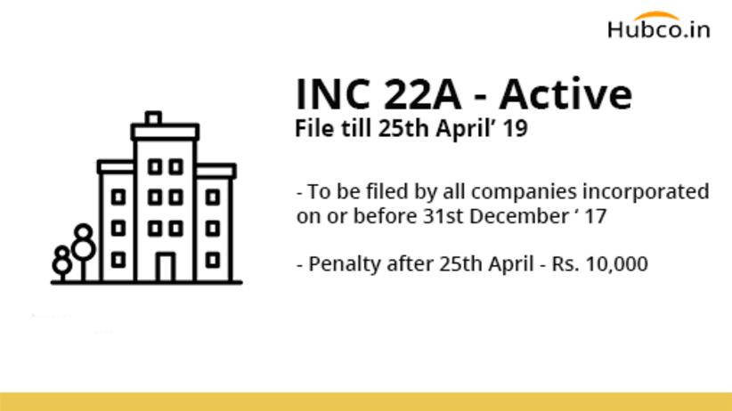 INC 22a Active MCA