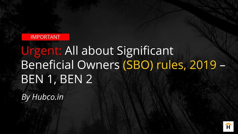 Ben1 Ben2 significant beneficial owners sbo rules 2019