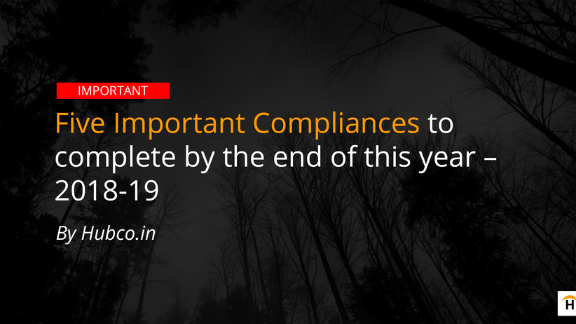 compliance of fy end 2018 2019
