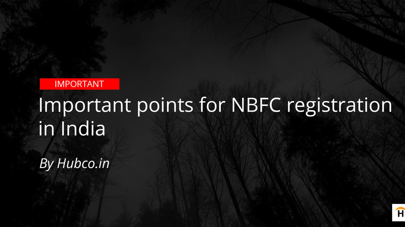 nbfc registration main points